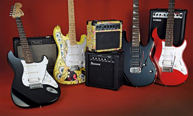 Top 10 Best Electric Guitars Starter Kit Reviews in 2021